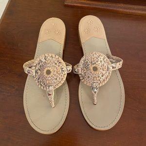Jack Rogers Georgica Python Sandals